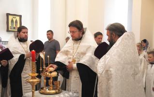 Празднование Вознесения Господня в храме равноапостольного князя Владимира
