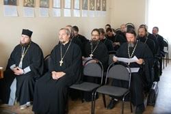 Состоялось собрание Центрального благочиния