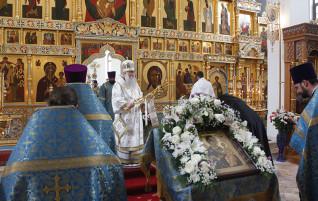 Божественная литургия в Свято-Алексиевском женском монастыре