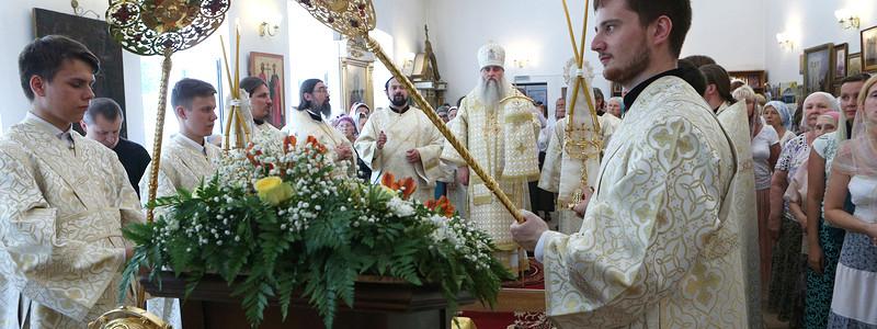 Божественная литургия в храме во имя святой равноапостольной Марии Магдалины