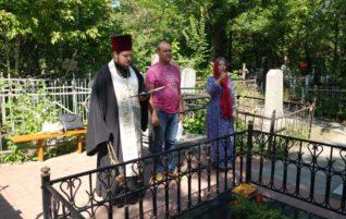 Панихида на Воскресенском кладбище