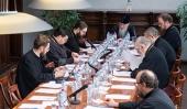 Клирик благочиния принял участие в заседании рабочей группы Издательского совета и работе комиссий Межсоборного присутствия