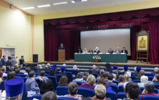 Состоялось пленарное заседание XVII Межрегиональных образовательных Пименовских чтений «Великая Победа: наследие и наследники»