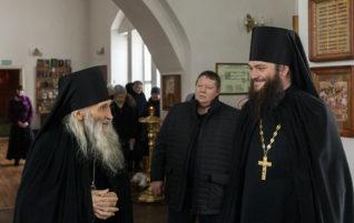 Схиархимандрит Илия (Ноздрин) посетил монастыри и храмы благочиния