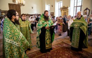 Престольный праздник Серафимовского храма