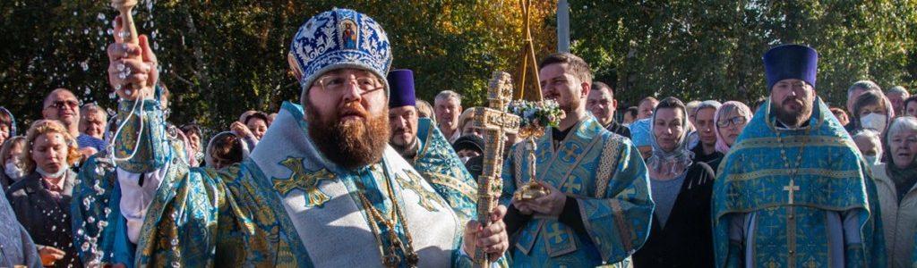 Храм Покрова Пресвятой Богородицы отметил престольный праздник