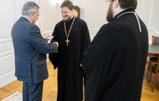 Митрополит Игнатий провел встречу с Борисом Шинчуком