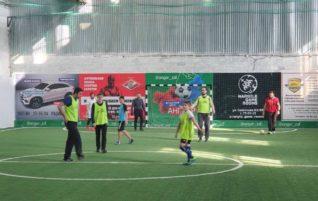 Отделом по физической культуре и спорту организована тренировочная игра для православной молодежи и духовенства