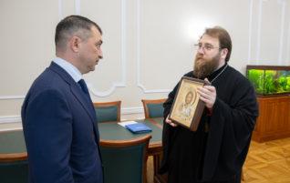 Митрополит Игнатий встретился с новым главой областного ГУ МВД