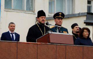 Благочинный центрального округа епархии принял участие в праздновании юбилея Таманской ракетной дивизии